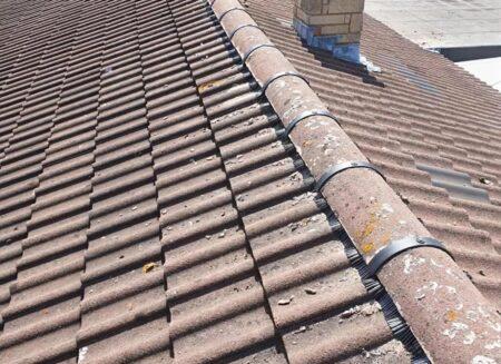 Ridge Tile Re-bedding