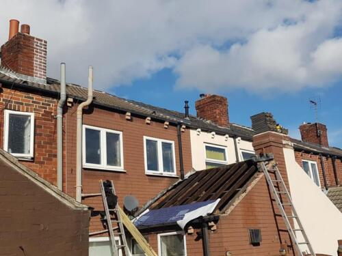 Castleford Yorkshire - Roofing Repair Project