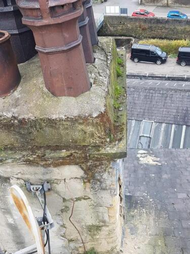 Commercial Chimney and Roofing Repairs