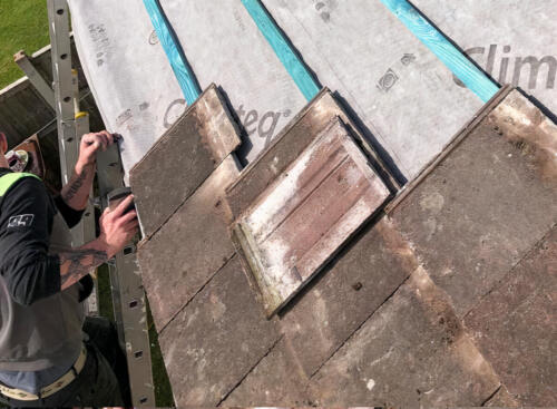 Emergency Roof Repairing Project