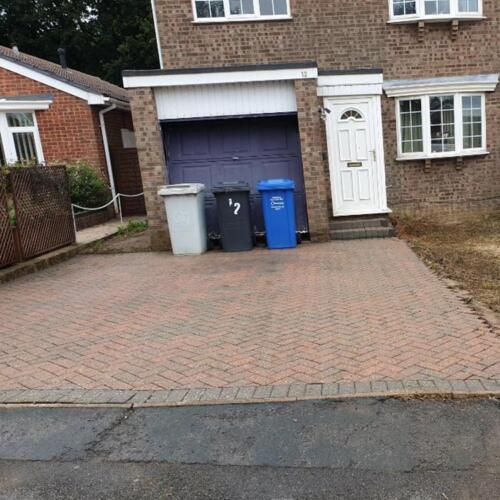Driveway Power Cleaning Project