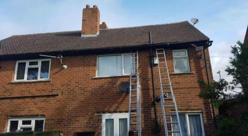 Roof Cleaning Project