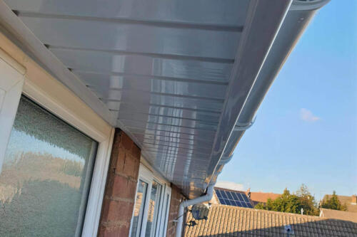 UPVC Facias & Soffits Services by High Design Roofing