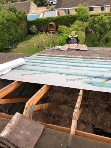 Wakefield Regular Roofing Maintenance Project